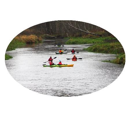 Фотографии водных походов выходного дня по Карельскому перешейку