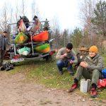 Осенние туры по малым рекам Карельского перешейка