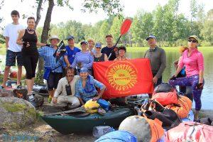 Водные походы по Вуоксе и Ладоге