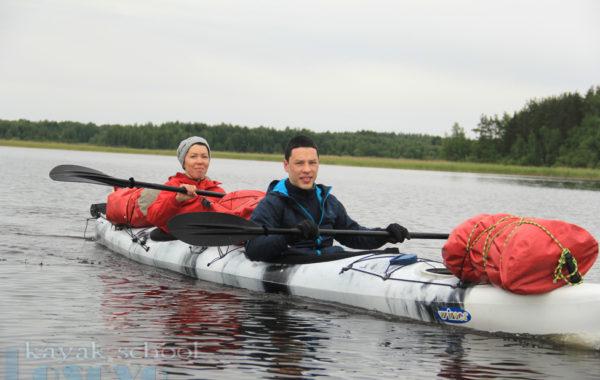 Однодневный поход по озеру Балахановское