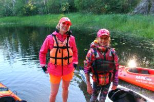 Активынй отдых на природе в Ленинградской области