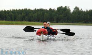 Водный поход на 2 дня по Балахановскому озеру на каяках.