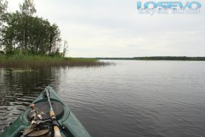 Водный поход на 2 дня по Вуоксе - озеро Балахновское