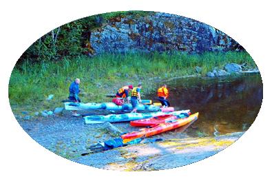 Фотографии с водных походов выходного дня по Ладоге