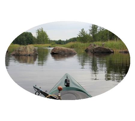 Фотографии водных походов выходного дня в Ленинградской области