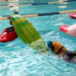 Заняти по технике страховки на воде