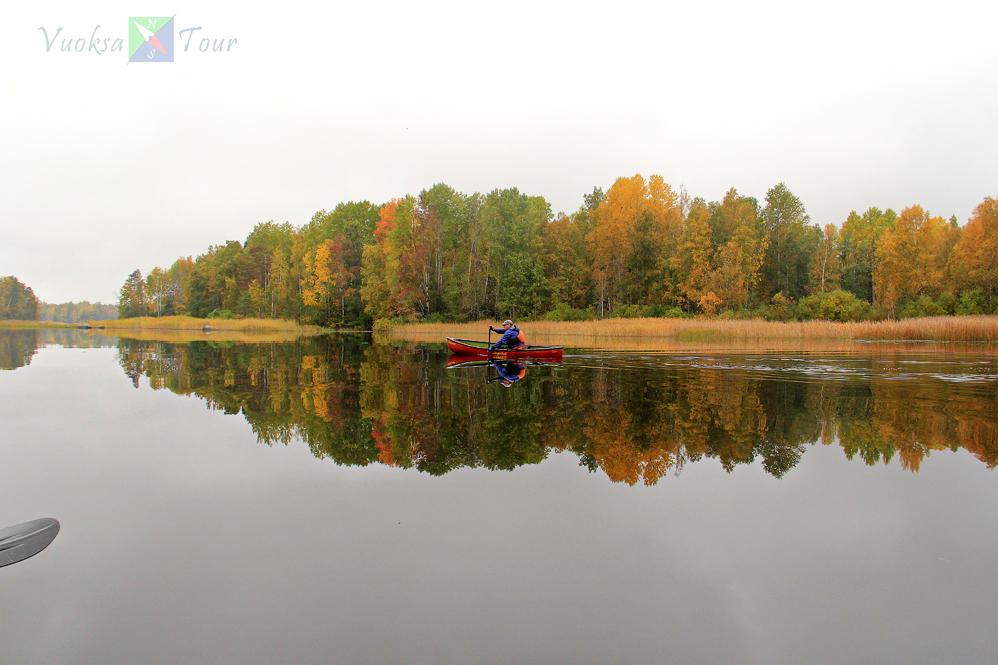 Золотая осень прекрасна! Осенний водный поход по Вуоксе