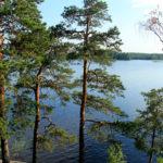 Активный тдых на природе. Озеро Вуокса