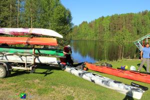 Какие преимущества путешествий по Вуоксе в мае.