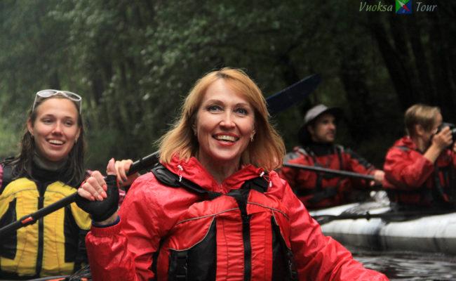 поход по озеру любимовское