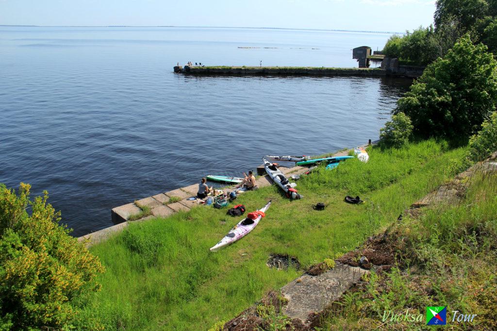 каякинг на Финском заливе