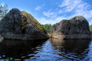 Озеро Градуевское на каяках