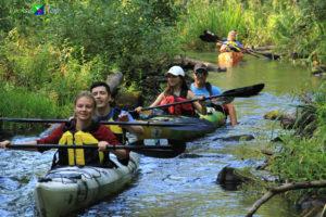 Поистине летний денёк 31 августа в Беличьих протоках!