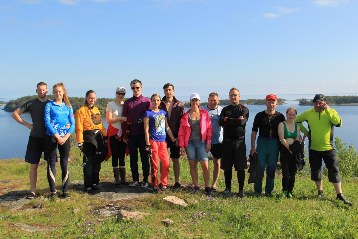 Клубная программа - водные походы по Ладоге