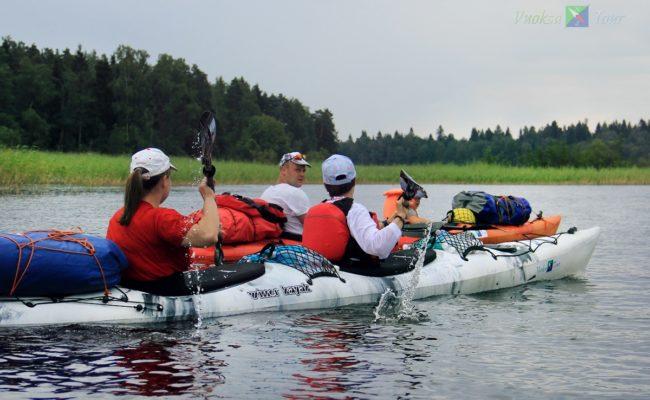 7-дневный поход по системе реки Вуокса