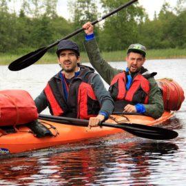 Двухдневный поход по озеру Макаровское