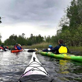 Трехдневный поход по озеру Любимовское