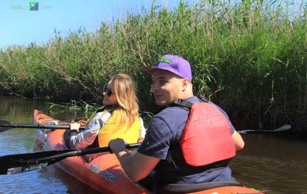 Однодневный тур по реке Весёлая