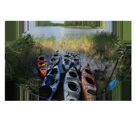 Фотографии водных походов выходного дня по Вуоксе