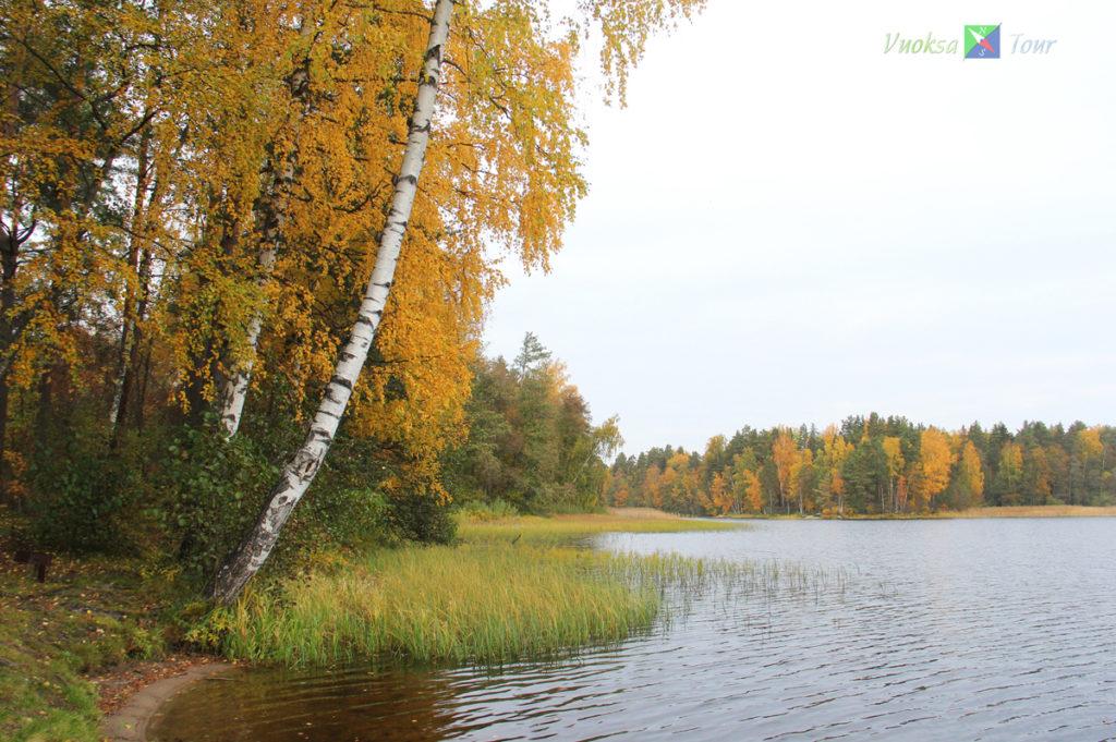 осень на Вуоксе